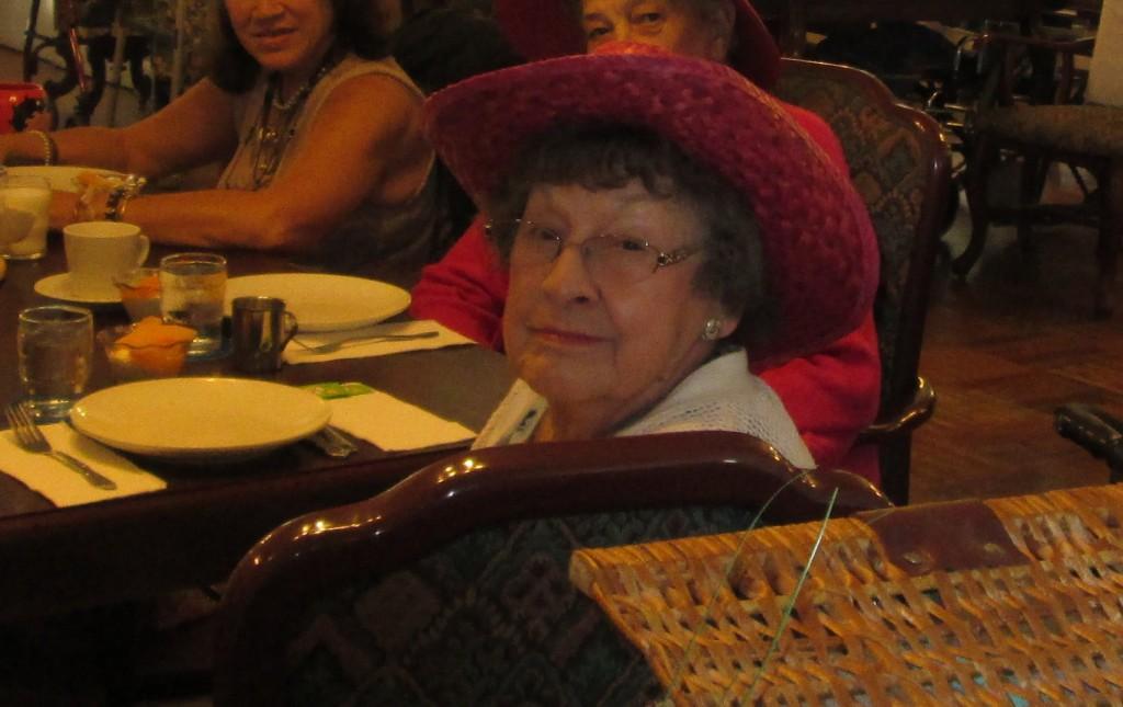 Crazy Hat Theresa