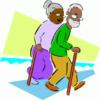 older adult walking